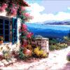 №45 Морской пейзаж 49-3646-НМ (2011-01) оригинал