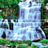 №119 Водопад в лесу 46-3072-НВ (2012-08) оригинал