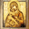 №190 Владимирская икона Божией Матери (2014-01) оригинал