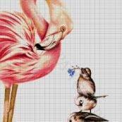 веб сетка цветочек