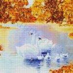 Янтарный пруд 44-4920-НЯ (2016) сетка