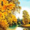 №369 Осенним днем у реки 43-3220-НО (2019-12) превью