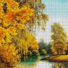 №369 Осенним днем у реки 43-3220-НО (2019-12) сетка