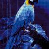 №372 Голубой Ара 45-2944-НГ (2020-01) сетка