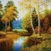№384 В летнем лесу 50-3408-НВ (05-2020) сетка