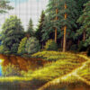 №385 Хвойный лес 43-3285-НХ (05-2020) сетка
